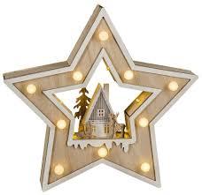 Hgd Holz Glas Design Led Weihnachtsstern Country Style Online Kaufen Otto