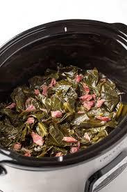 slow cooker collard greens and ham
