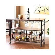 wine glass rack plans. Portable Kitchen Racks Wine Rack Plans Beverage Cart Island Drink Trolley Glass