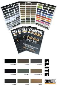 Cerakote Color Chart The 2018 Cerakote Color Chart Features Over 100 Colors From