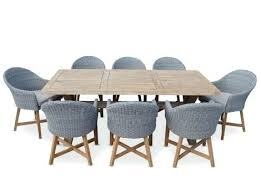 outdoor table and chairs solid teak outdoor table with coastal rattan chairs garden table chairs covers