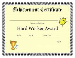 Sample Certificate Of Achievement Word Certificate Of Achievement Template Best Professional Templates 24