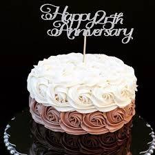 Anniversary Cake Topper Happy Anniversary Cake Topper Happy Etsy