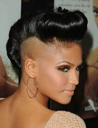 various side men haircut short shaved hairstyles for black women 2017