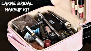 lakme bridal makeup kit with new affordable makeup s must have wedding series 1