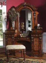 antique vanity set furniture. antique wood vanities: three felt lined drawers dressing vanity set-antique vanities-antique furniture set