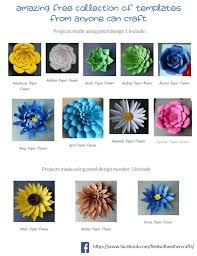 (please remember these files are for personal use only.) you get 3 files, an svg file for use with cricut or silhouette machines, a dxf file for use in silhouette studio basic edition, and a pdf file for cutting by hand. Free Templates Tutorials For Making Paper Flowers With Cricut Or Silhouette
