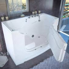 Access Tubs Wheelchair Accessible Slide-in Tub with Air Bubble Massage
