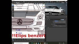Blender araba modelleme Mercedes C197 Bölüm 1 - YouTube