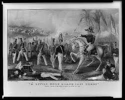 Image result for Zachary Taylor, the military war hero of the Mexican-American conflict.
