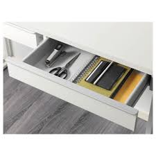 ikea bestÅ burs desk can be placed in the middle of a room because the back