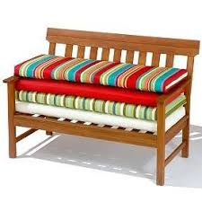 Extraordinary Outdoor Patio Bench Cushions At Backyard Ideas