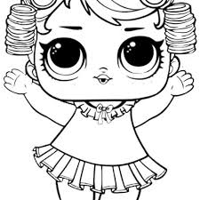 Baby Doll Coloring Pages To Print With Baby Doll Lol Surprise Doll