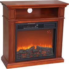USA Cabinetry Infrared Fireplace Heater  BlackInfrared Fireplace Heater
