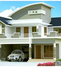 Small Picture Awesome House Elevation Designs Kerala Home Design And Floor Plans