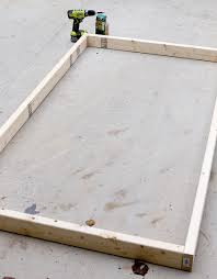 how to build a diy platform bed