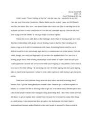 language and social class essay   sorcha vikter english  jacobs   pages movie reaction paper