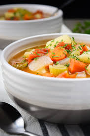 instant pot vegetable soup vegan