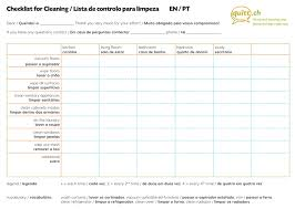 cleaning checklists the cleaning checklist the perfect tool for you and your cleaner