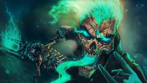 cool painting skull wallpaper desktop wallpaper
