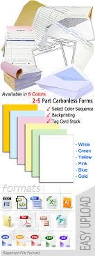 Carbonless Forms Printing Carbonless Paper 2 5 Pt
