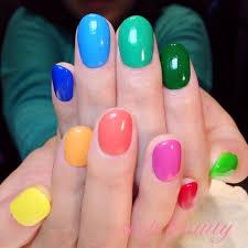 Colorfulnailカラフル派手目可愛いみんなの投稿ねいるカタログ