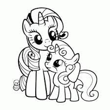 My Little Pony Kleurplaat Printen We Hebben Er Wel Meer Dan 40
