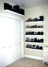 wall shoe storage wall mounted shoe storage and white door design ideas qualified shelves for shoes wall shoe storage