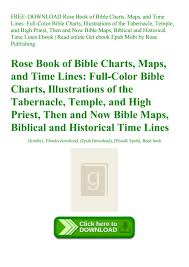Free Download Rose Book Of Bible Charts Maps And Time Lines