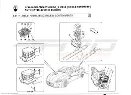 maserati fuse box diagram maserati wiring diagrams online