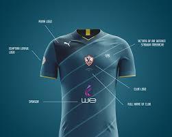 Over 200,000 licensed sports gifts! Zamalek Sc Fantasy Kit On Behance Zamalek Sc Shirt Designs Book Cover Design