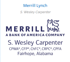 Local Merrill Lynch Financial Advisor S. Wesley Carpenter Named on the 2020  Forbes Top Next-Generation Wealth Advisors
