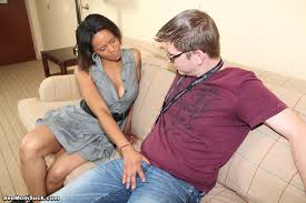 Black milf Rihanna suck off her step son cock. Pichunter