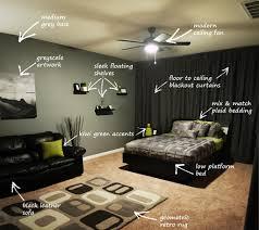 Modern Bachelors Bedroom