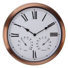large outdoor patio clocks large outdoor wall clocks