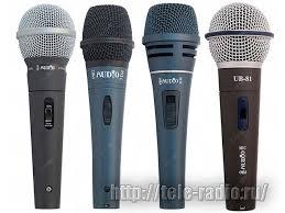 Вокальные <b>микрофоны PROAUDIO UB</b>