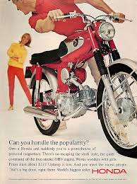 vintage honda motorcycle ads. 1965 honda super 90 motorcycle popularity ad vintage honda motorcycle ads