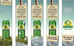 Don't forward our content to people under the legal drinking age please celebrate responsibly and read our. The Verdict Somersby Apple Cider S First Canadian Summer Media In Canada