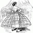 Images & Illustrations of crinoline