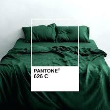dark green patterned duvet cover forest 3 piece linen bedding set 2 bed dark green plaid duvet cover