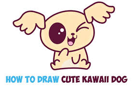 how to draw cute kawaii chibi puppy dogs with easy step by step drawing tutorial for beginners and kids how to draw step by step drawing tutorials
