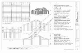 Garage Plans With Gambel Roofs BlueprintsGambrel Roof Plans