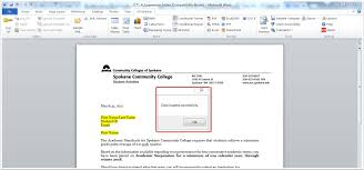 Microsoft Word Update All Fields Communications Updating A Letter Template And Using Merge Fields