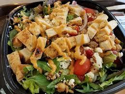 wendy s power terranean en salad