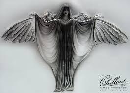 Art тату эскиз ангел Chillout Tattoo Workshop