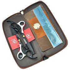 5.5<b>Inch Meisha Professional</b> Hairdressing Scissors Set JP440C Hair ...