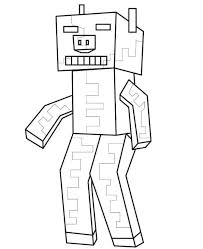 Minecraft coloring pages for kids. 40 Printable Minecraft Coloring Pages