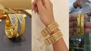 Dubai Gold Designs Catalogue Gold Bangles Designs Latest Designs In Gold Bangles 2019