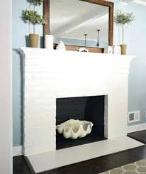 cool painted brick fireplace white minimal white painted fireplace painting an old brick fireplace white