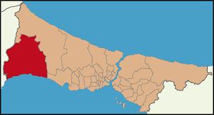 Image result for silivri haritası